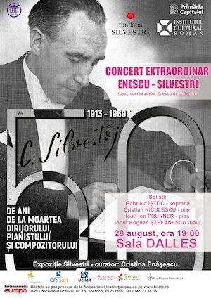 bilete Concert extraordinar Enescu - Silvestri