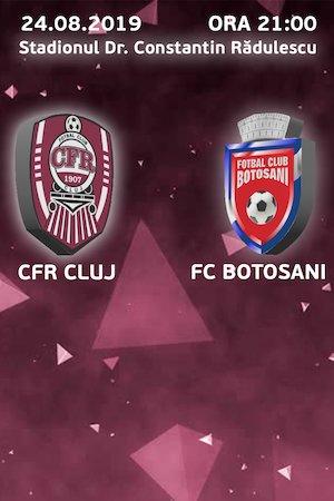CFR 1907 Cluj - FC Botosani