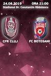 bilete CFR 1907 Cluj - FC Botosani