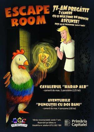 bilete Escape Room OCC
