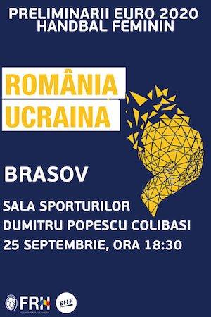 Handbal Feminin: Romania – Ucraina