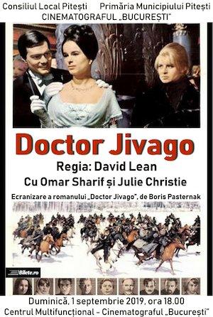 Doctor Jivago la Cinematograful Bucuresti