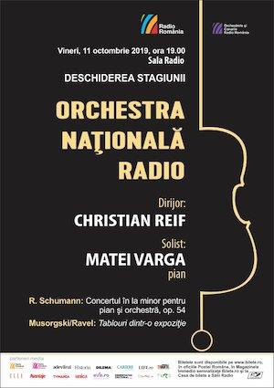 Bilete la  Orchestra Nationala Radio - Deschiderea Stagiunii
