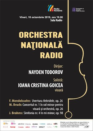Bilete la  Ioana Cristina Goicea - Seara romantica - ONR