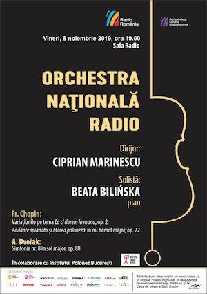Bilete la  Chopin-Dvorak - Orchestra Nationala Radio - 30