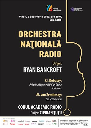Orchestra Nationala Radio - Ryan Bancroft
