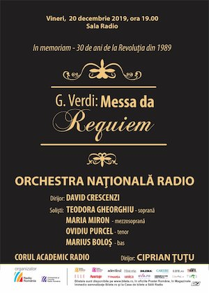 G. Verdi: Messa da Requiem - Orchestra Natioanala Radio