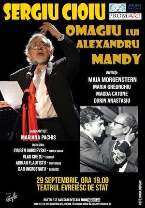 Sergiu Cioiu - omagiu Alexandru Mandy