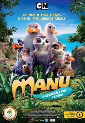 Manu a legsirályabb fecske (Manou the Swift)
