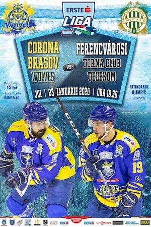 CSM Corona Brasov Wolves - Ferencvarosi Torna Club Telekom