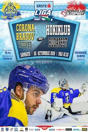 CSM Corona Brasov - Hokiklub Budapest