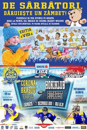 Corona Brasov Wolves - Hokiklub Budapest