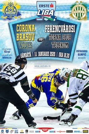 Bilete la  CSM Corona Brasov Wolves - Ferencvarosi Torna Club Telekom