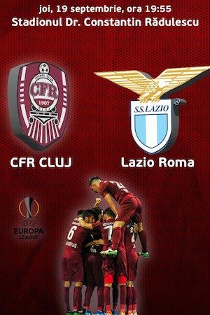 CFR Cluj v Lazio Roma