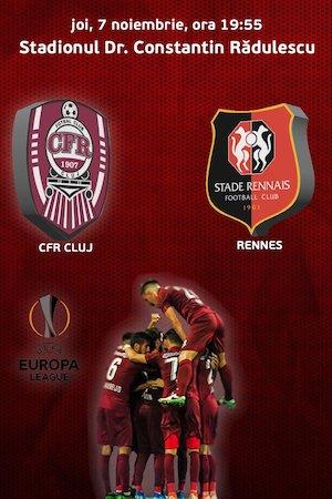 bilete CFR Cluj v Rennes