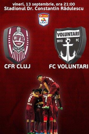Bilete la  CFR 1907 Cluj v FC Voluntari
