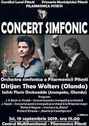 Concert simfonic la Filarmonica Pitesti