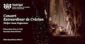 bilete Concert extraordinar de Craciun Corul National de Camera Madrigal - Marin Constantin