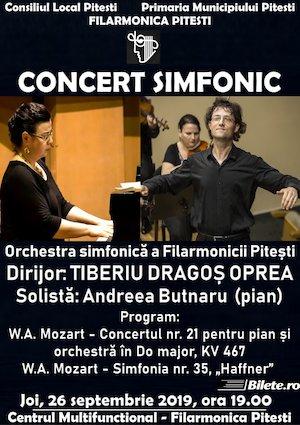 Concert simfonic - Orchestra simfonica a Filarmonicii Pitesti