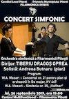 bilete Concert simfonic - Orchestra simfonica a Filarmonicii Pitesti