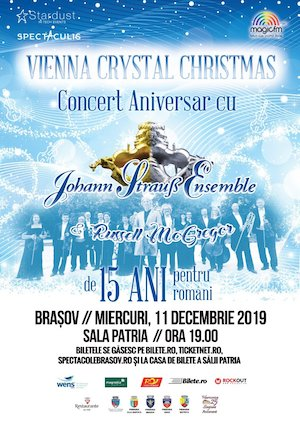 Vienna Crystal Christmas - cu Johann Strauss Ensemble