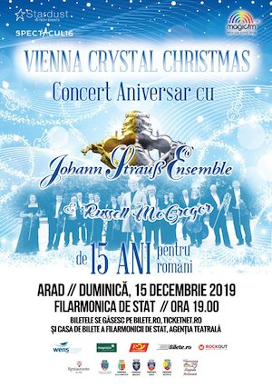 bilete Vienna Crystal Christmas - cu Johann Strauss Ensemble