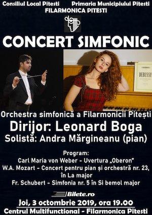 Concert Simfonic cu Leonard Boga