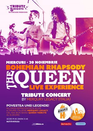 Bohemian Rhapsody - QUEEN Tribute Show by Merqury Legacy [Italy]
