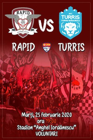 FC Rapid Bucuresti - AFC Turris Oltul Turnu Magurele