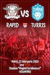 bilete FC Rapid Bucuresti - AFC Turris Oltul Turnu Magurele