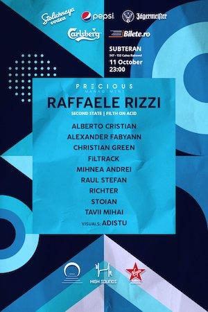 bilete 2nd anniversary w/ Raffaele Rizzi and High Sounds squad at Subteran