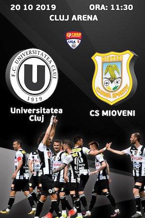 FC Universitatea Cluj - CS Mioveni