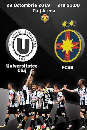 FC Universitatea Cluj v FCSB