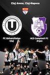 bilete FC Universitatea Cluj v ACS Campionii FC Arges