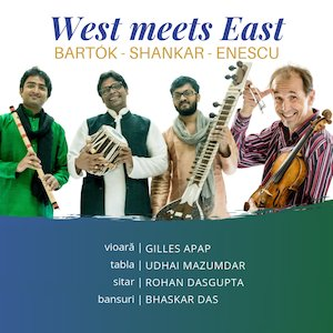 West meets East – Bartok, Shankar, Enescu