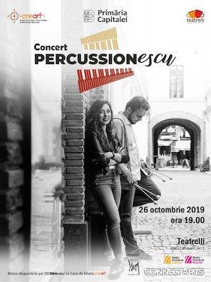 Concert PERCUSSIONescu