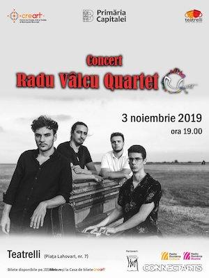 Bilete la  Concert Radu VALCU Quartet