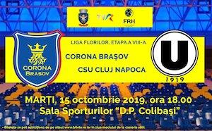 Bilete la  CSM Corona Brasov - CSU Cluj Napoca