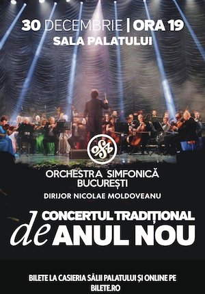 Orchestra simfonica Bucuresti- Concert traditional de Anul nou