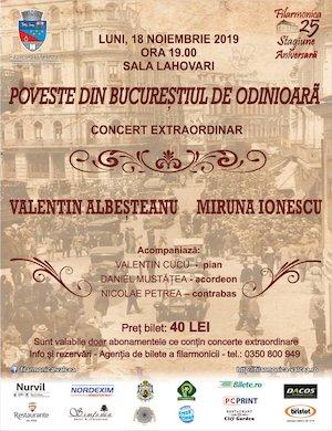 Concert extraordinar - Poveste din Bucurestiul de odinioara