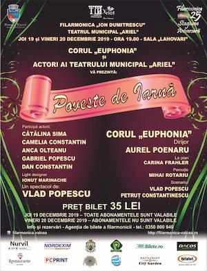 Bilete la  Poveste de Iarna la Filarmonica Ion Dumitrescu