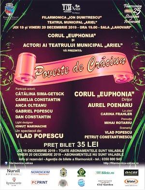 bilete Poveste de Craciun la Filarmonica Ion Dumitrescu