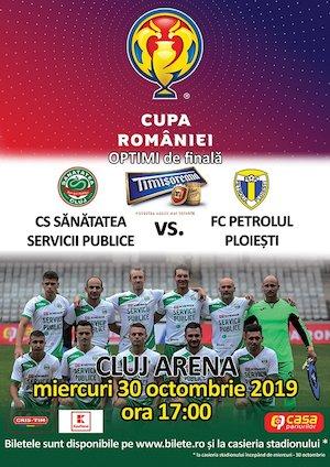 CS Sanatatea Servicii Publice - FC Petrolul Ploiesti - Cupa Romaniei