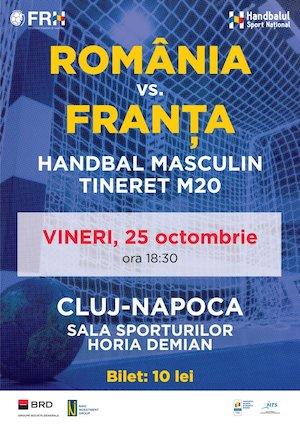 Bilete la  Romania - Franta - Handbal Masculin