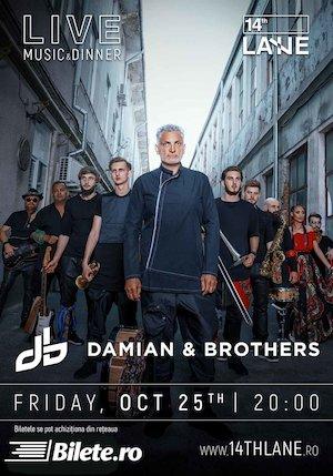 Bilete la  Damian & Brothers