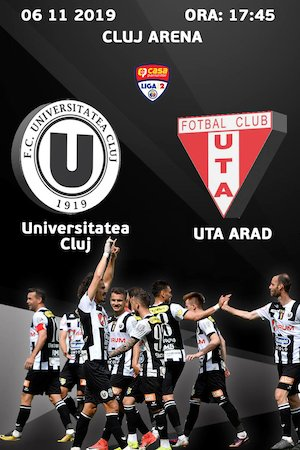 bilete FC Universitatea Cluj v UTA Arad