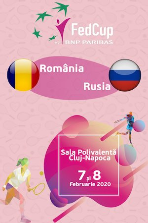 Fed Cup - Romania - Rusia
