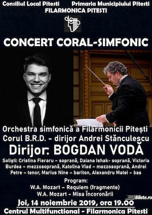 Concert Coral-Simfonica la Filarmonica Pitesti