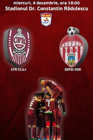 Bilete la  CFR 1907 Cluj v Sepsi OSK Sf. Gheorghe