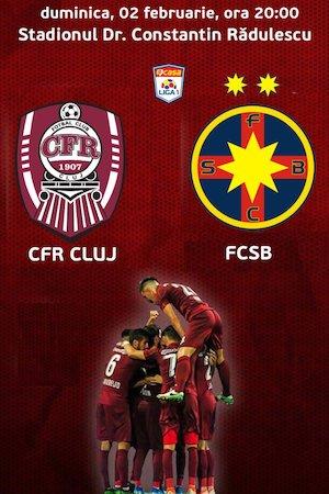 CFR 1907 Cluj v FCSB